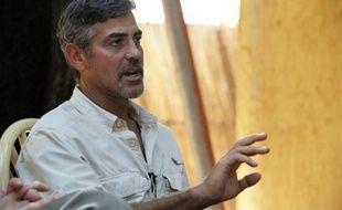 L'acteur américain George Clooney le 8 janvier 2011 à Juba au Sud-Soudan