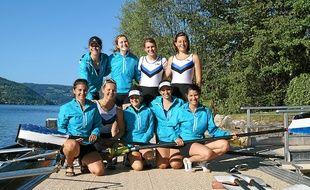 Le 8 seniors dames sera l'un des favoris, ce week-end, à Bourges.