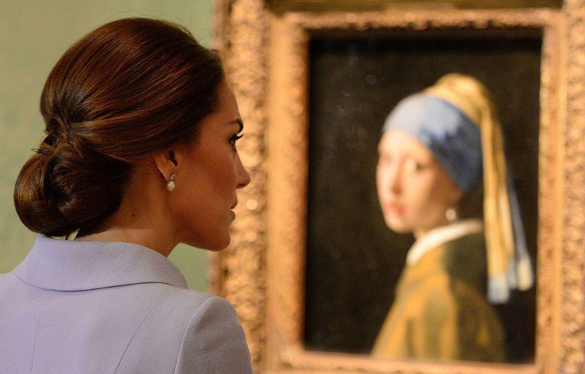 Kate Middleton au musée Mauritshuis de La Haye pour une expo Vermeer  – Papixs/SIPA