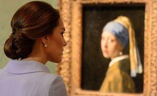 Kate Middleton au musée Mauritshuis de La Haye pour une expo Vermeer