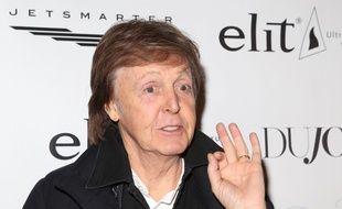 Paul McCartney lors de la projection du Merveilleux Jardin secret de Bella Brown, à New York
