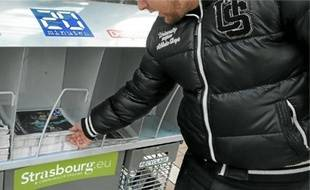 Strasbourg est la première ville à expérimenter les nouveaux présentoirs.