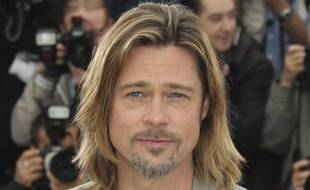 Brad Pitt le 22mai 2012àCannes.