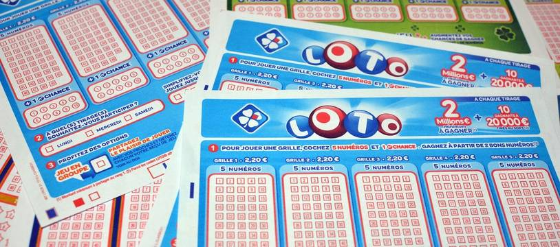 Des tickets du Loto (Illustration).