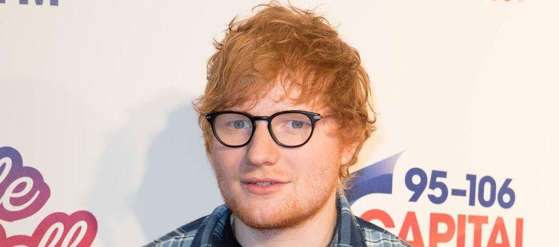 Le chanteur britannique Ed Sheeran