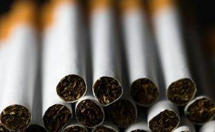 Des cigarettes. Illustration.