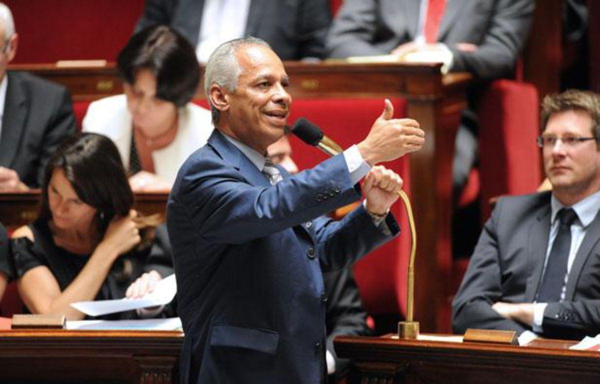 Victorin Lurel, le ministre de l'outre-mer   – M.FEDOUACH / AFP