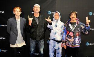 Les Red Hot Chili Peppers en février 2016.