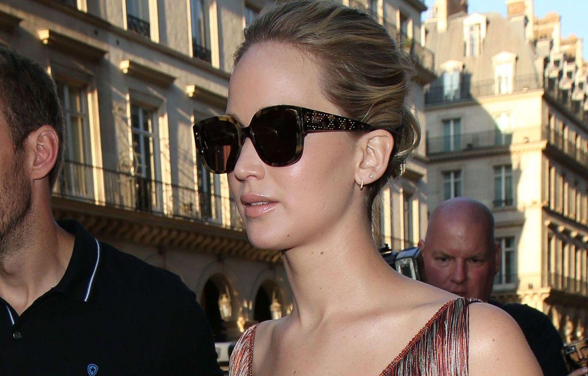 Jennifer Lawrence à la fashion week de Paris le 3 juillet 2017 – Beretta/Sims/Shuttersto/SIPA