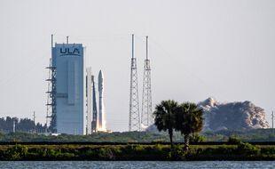 La fusée Atlas V de United Launch Alliance (ULA) à Cap Canaveral, le 30 juillet 2020.