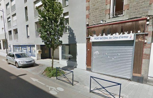 Saint-Brieuc: La permanence du Rassemblement national vandalisée