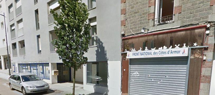 La permanence du Rassemblement national avait déjà été vandalisée au mois de juillet à Saint-Brieuc.