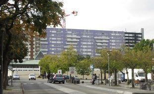 Le quartier des Dervallières, à Nantes