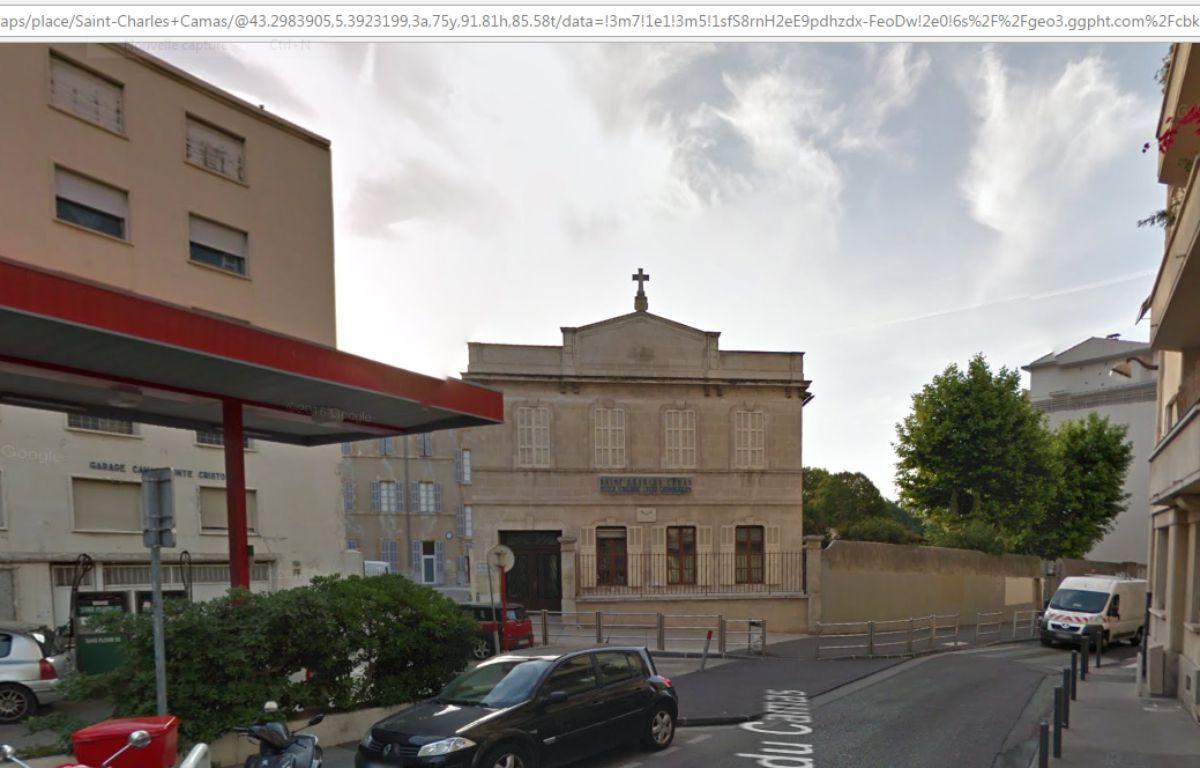 Le Lycée Saint-Charles Camas – Capture d'écran