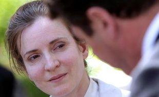 La candidate de l'UMP à la mairie de Paris Nathalie Kosciusko-Morizet, investie le 3 juin, met les bouchées doubles pour rattraper sa rivale PS Anne Hidalgo, entrée en lice dès septembre