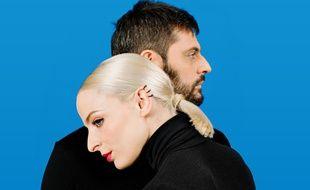 Emilie Satt et Jean-Karl Lucas forment le duo Madame Monsieur.