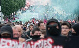 La manifestation du 17 mai à NantesSEBASTIEN SALOM-GOMIS/SIPA/1605171707