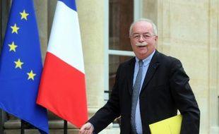 Christophe de Margerie, le PDG de Total, le 30 juin 2014 à Paris