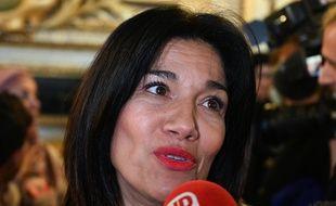 Samia Ghali en octobre 2019