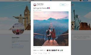 Paris, sa tour Eiffel et ses montagnes... Bah bien sûr!
