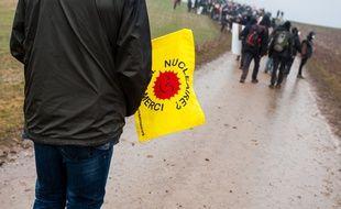 Lors d'une des nombreuses manifestations contre le projet d'enfouissement à Bure. (archives)