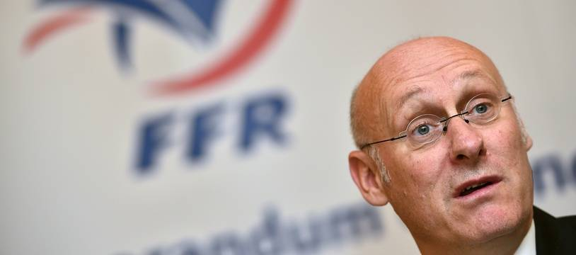 Bernard Laporte, le président de la FFR.