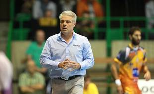 L'entraîneur du HBC Nantes Thierry Anti.