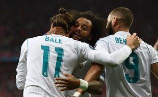 Le Real Madrid a battu Liverpool en finale de Ligue des champions, le 26 mai 2018.