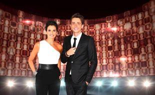 Faustine Bollaert et Guillaume Pley animent «Rising Star» sur M6.