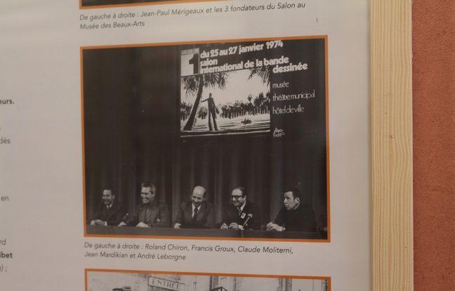 Les cofondateurs du salon lors de la première édition.