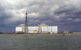 La centrale de nucléaire de Fessenheim.