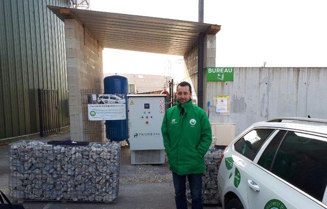 David Peterschmitt s'est lancé, avec son frère Christian dans la production de biogaz et désormais de bioGNV dans le Territoire de Belfort.