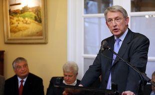 Le sénateur PS Yannick Vaugrenard