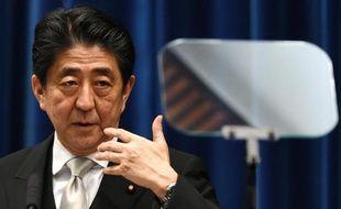 Le Premier ministre japonais Shinzo Abe le 24 décembre 2014 à Tokyo
