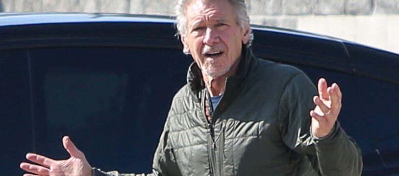 L'acteur Harrison Ford