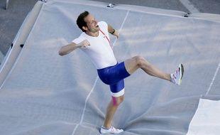 Renaud Lavillenie a réussi un saut à 6,05 m (image d'archives).