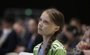 Greta Thunberg pendant la COP25 qui a eu lieu à Madrid, en décembre 2019.