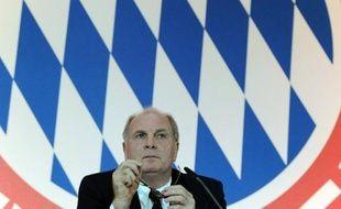 Le président du Bayern Munich, Uli Hoeness.