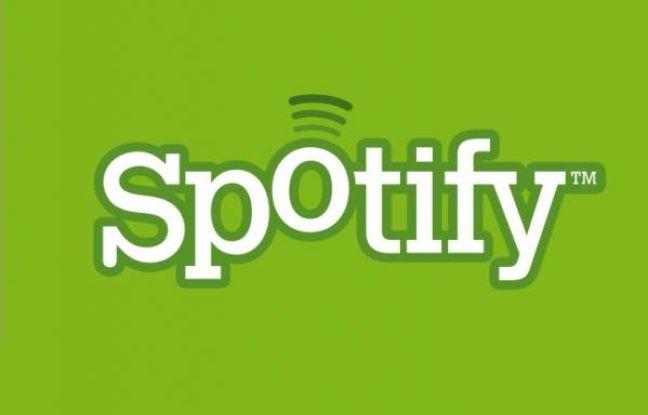 Le logo de Spotify, un service de streaming musical.
