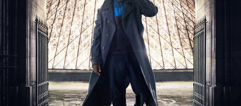 L'acteur Omar Sy dans la série «Lupin» sur Netflix