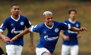 Amine Harit, sous le maillot de Schalke 04