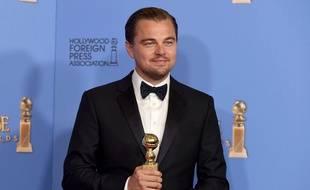 Leonardo DiCaprio a reçu le Golden Globe du meilleur acteur dans un film dramatique pour «Revenant».