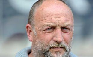 Franck Dumas, ici le 29 avril 2012 lors du match Nancy-Caen en Ligue 1.