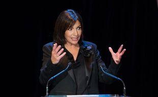 La candidate PS à la Mairie de Paris, Anne Hidalgo, le 13 janvier 2014 à Paris.