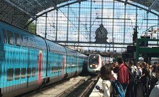 La gare de Bordeaux Saint-Jean