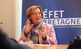 La préfète de Bretagne Michèle Kirry quitte la région pour exercer à Paris.
