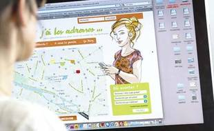 Lancement de www.ivglesadresses.org, un site qui permet de trouver où réaliser une IVG en Ile-de-France, le 6 mars 2013.