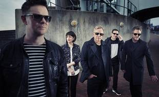 Le groupe New Order.