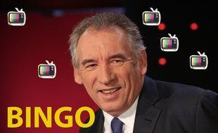 Montage 20 Minutes/Sipa de François Bayrou, président du Mouvement démocrate