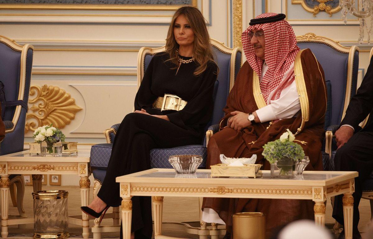 Melania Trump en visite officielle à Riyad – Evan Vucci/AP/SIPA